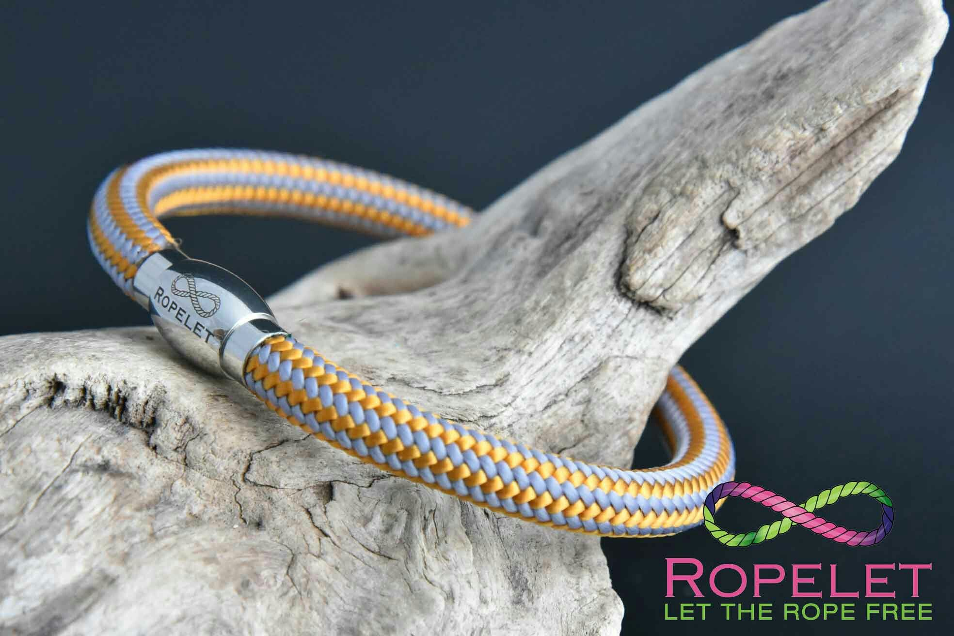 This stunning orange and silver Ropelet can be made any size for your wrist at www.ropelet.co.uk.  Just one of our stunning rope and leather bracelets available in our online shop and made to your order.  Come and check them out today, great value and service await you with a choice second to none. #ladiesbracelet #fashionbracelet #fashionaccessories #handmadegift #mensbracelet #mensfashion #menstyle #menswear #ropelet #ropebracelet #bracelet #leatherbracelet #climbingbracelet…