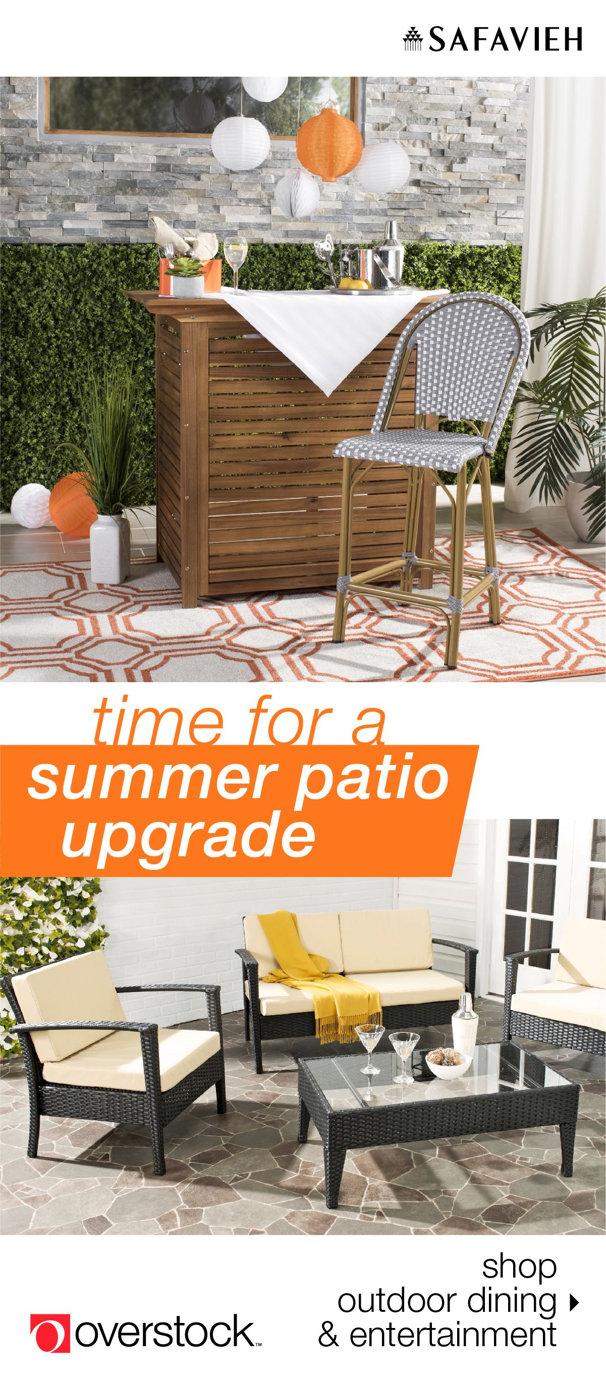 Safavieh Patio Furniture For Your Backyard Paradise Outdoor