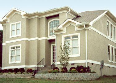 Stucco Exterior House