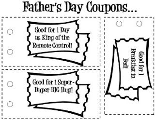 free printable father s day coupon book templates father s day