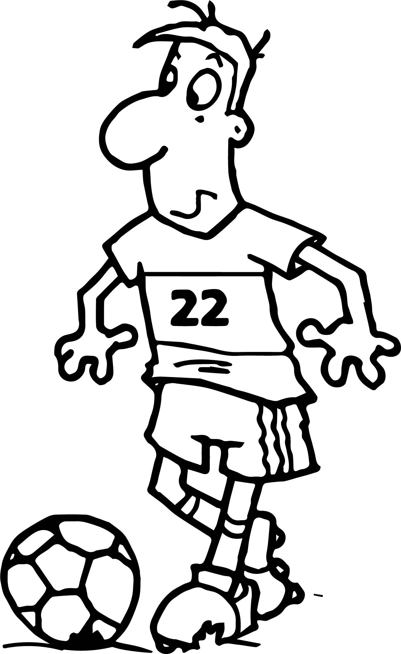 Soccer Coloring Pages For Kids To Develop Their Fine Motor And