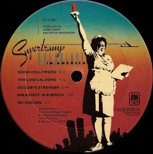 Supertramp - Breakfast In America (Vinyl, LP, Album) at