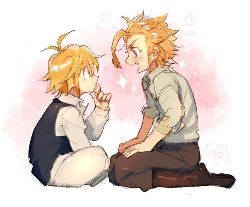 Meliodas and Arthur | Nanatsu no Taizai | Seven deadly sins, Seven