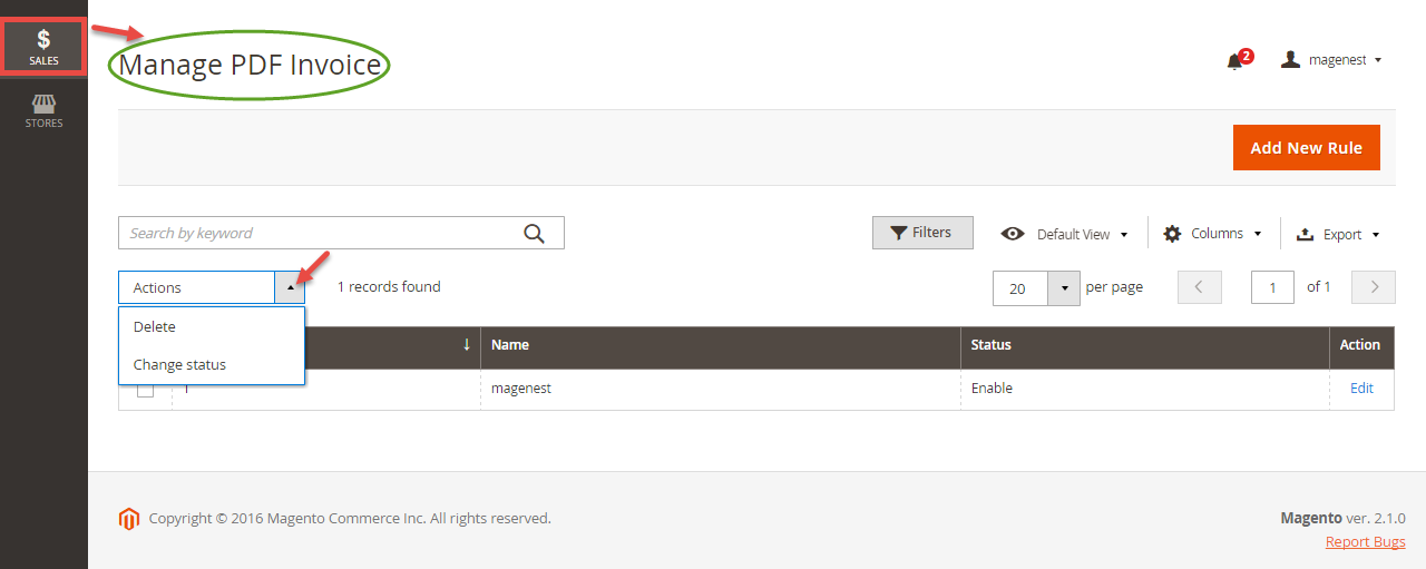 Magento 2 Pdf Invoice Invoice Template Magento Create Invoice