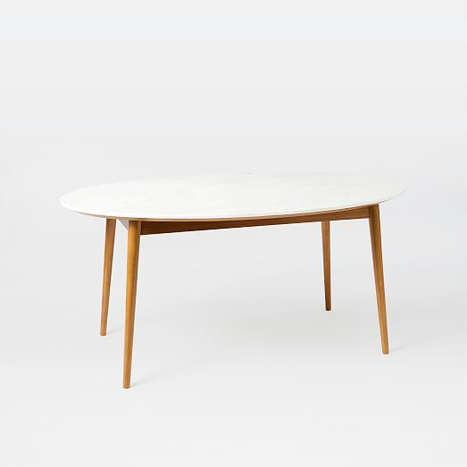 Penelope Dining Table Westelm Mid Century Design Marble Room