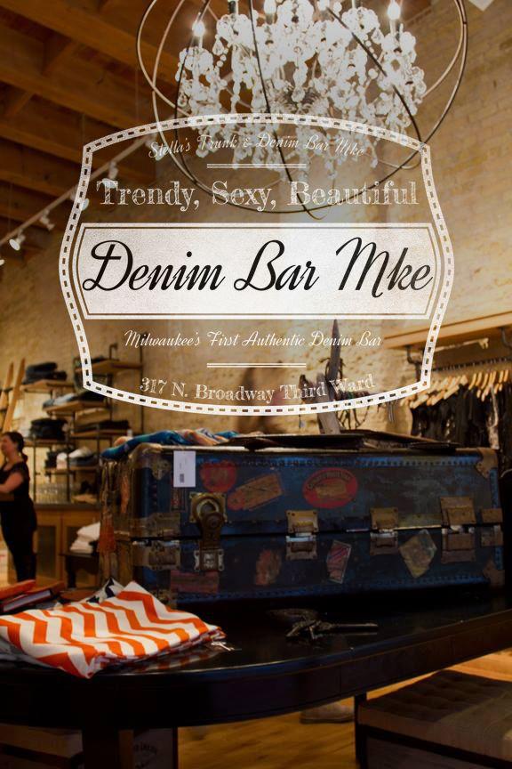 Milwaukee's first authentic denim bar featuring over 1,000 pairs of - What Is A Denim Bar? Milwaukee's First Authentic Denim Bar