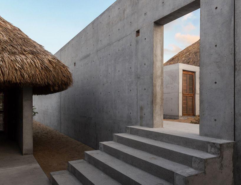 Tadao Ando Casa Wabi foundation Mexico designboom