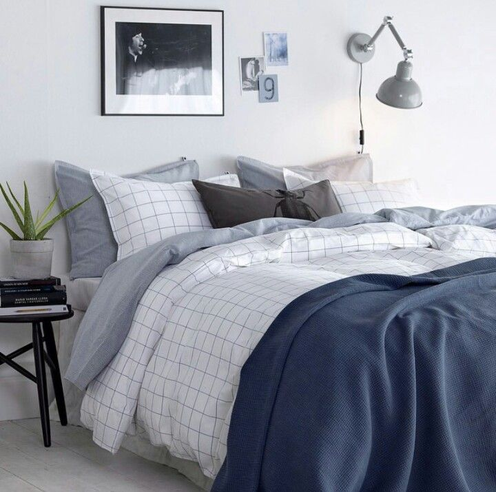 Lovely bedroom colors from ellos.