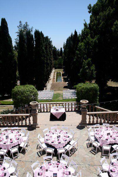 omg omg balcony wedding reception, YES!!!!