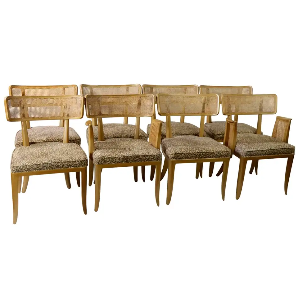 Rare Set Of 8 Wormley For Dunbar Dining Chairs Dining Chairs Chair Dining Chair Design Set of 8 dining chairs