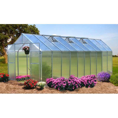 Found it at Wayfair - Monticello 8 Ft. W x 20 Ft. D Greenhouse