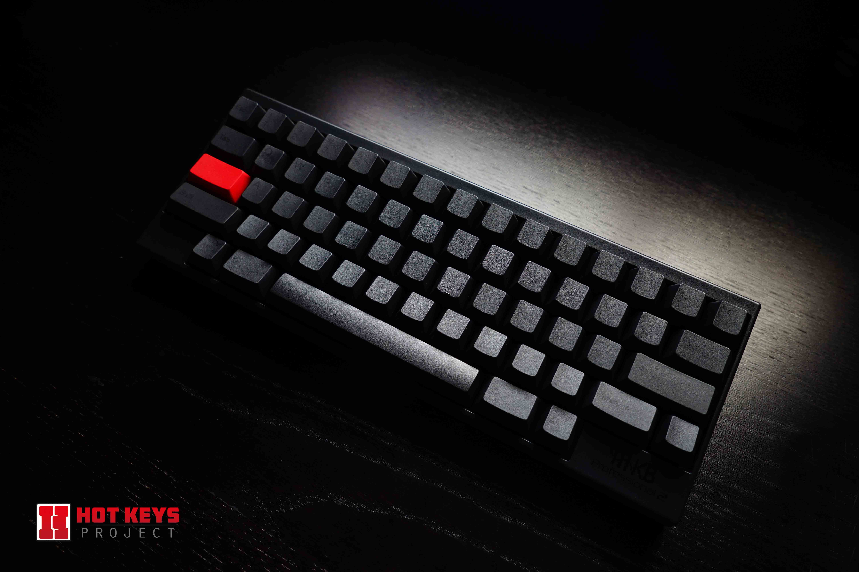 Hhkb Black And Red Setup Hotkeysproject Keycaps Keyboard