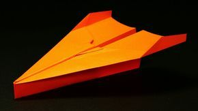 How to make a Good Paper Airplane that Flies 10000 Feet - Best Paper Pla...