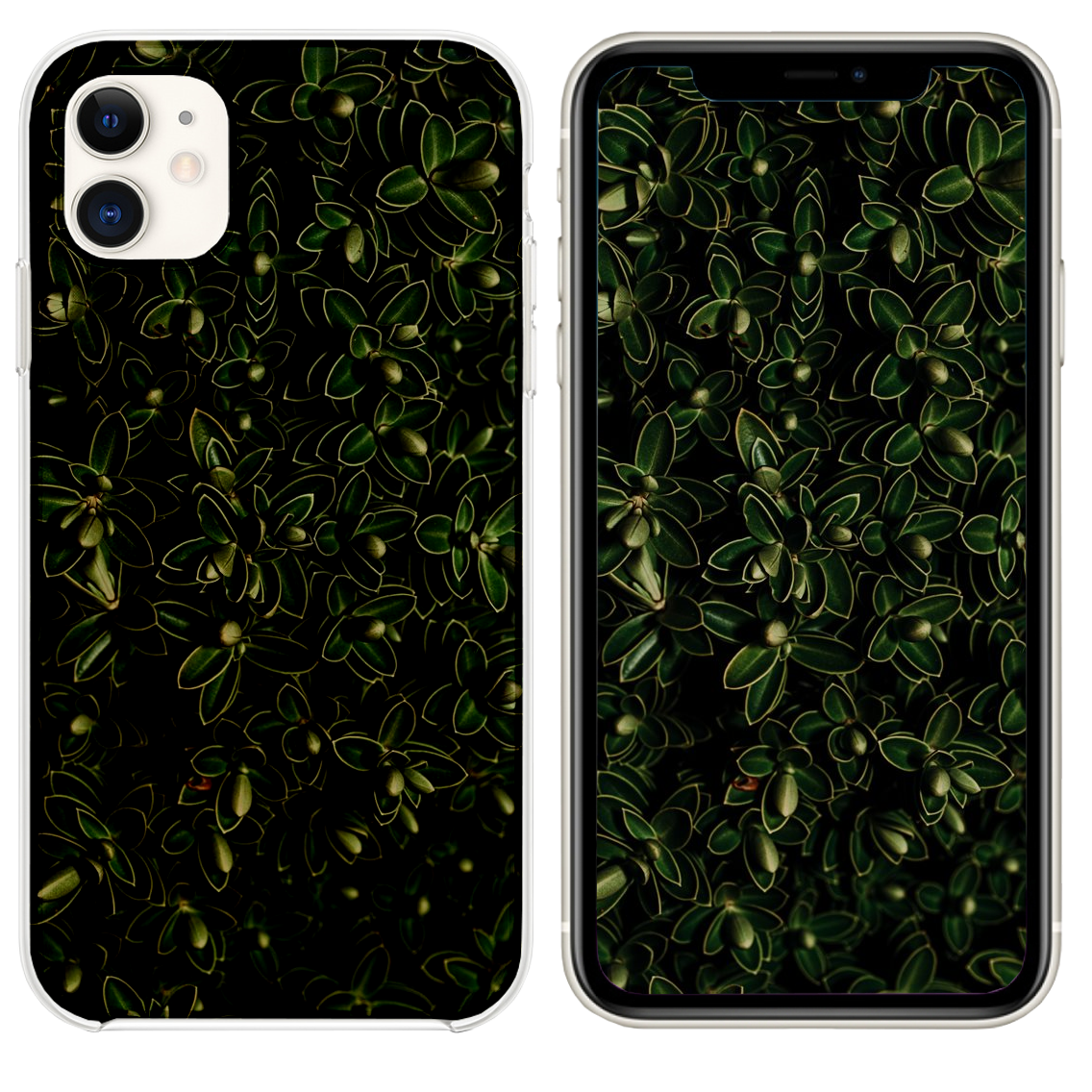 Green Leaf Plant Iphone 11 Case Iphone 11 Green Leaves Iphone