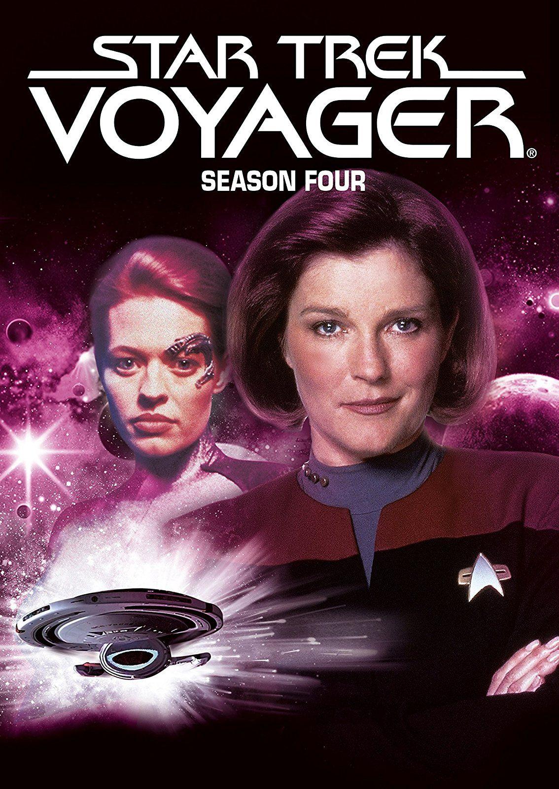 37 Star Trek Voyager 1997 98 S04 4 5 06 09 17 Aquesta Temporada Sí Star Trek Voyager Star Trek Star Trek Series