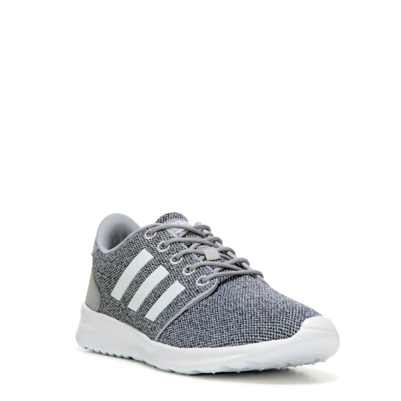 low priced 3fd7b 0f84e Adidas Women s Neo Cloudfoam QT Racer Sneakers (Grey White) - 10.0 M