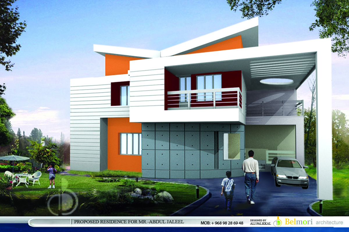 Awesome Modern Style Homes Design Modern House Exterior Design In