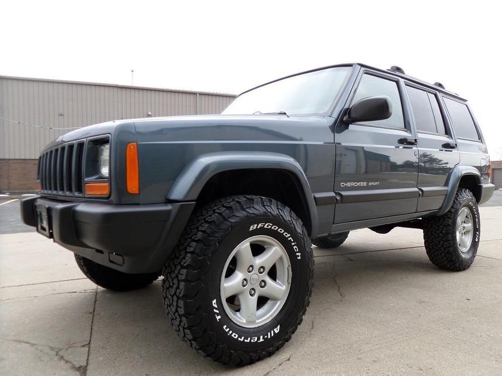 2001 Jeep Cherokee SPORT 4X4/4.0 inline 6/4sp Auto/ 3.5