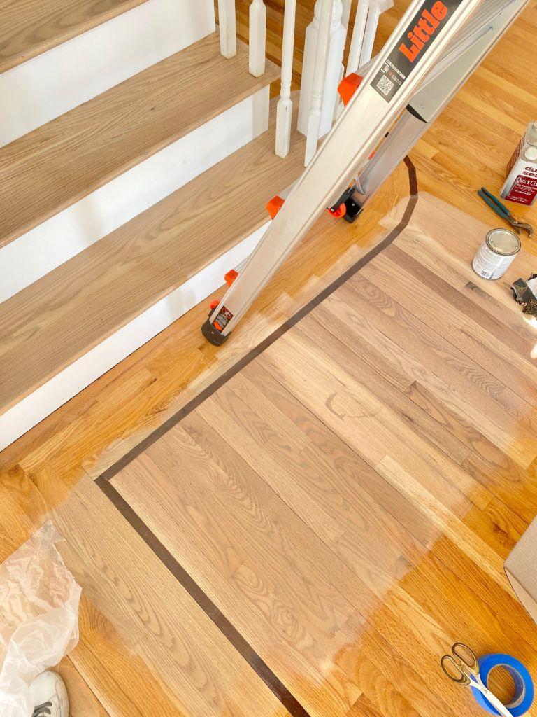 Duraseal Silvered Gray Stain On Red Oak Floors Pinteresting Plans In 2020 Red Oak Floors Red Oak Wood Floors Refinishing Hardwood Floors