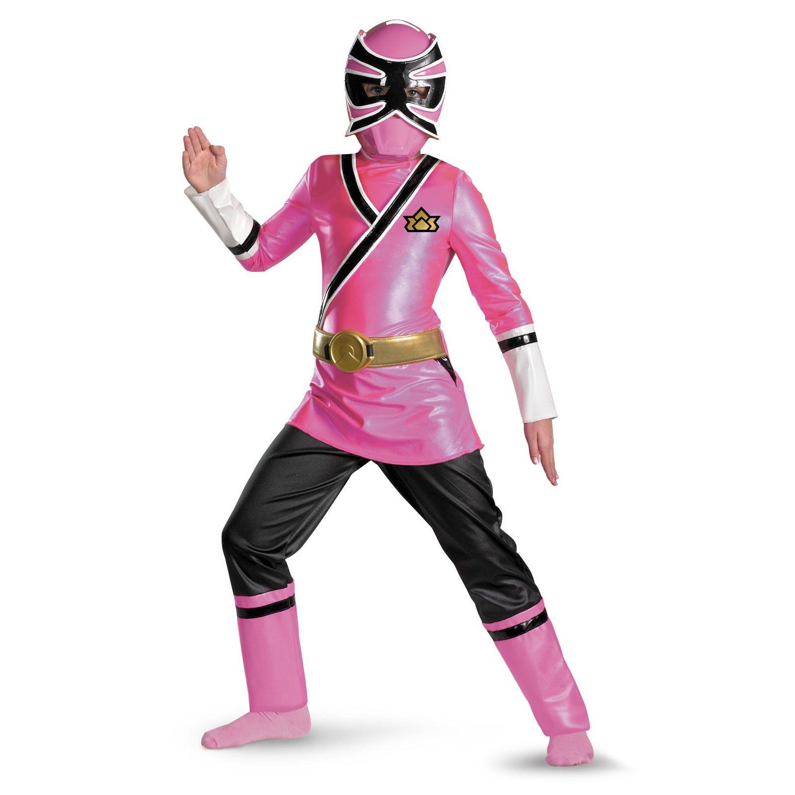 Power rangers pink samurai ranger deluxe child costume birthday party pink samurai power - Power ranger samurai rose ...