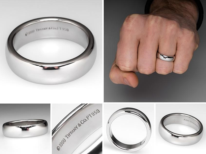 Raine S Lucida Band Tiffany Wedding Rings Mens Wedding Bands Mens Wedding Rings Unique
