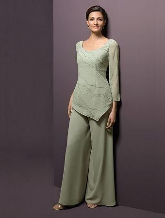 Alfred Angelo - Mother of the Wedding Dress Style No. 6576 with Classic Bottom  possible dressy outfit for mom
