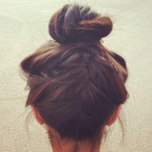 braid/bun