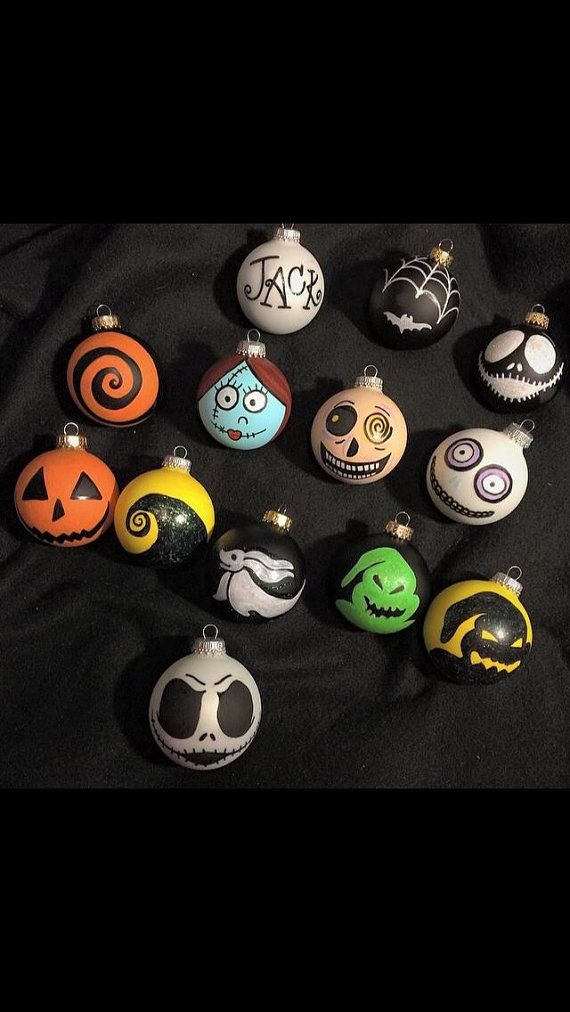 Nightmare before christmas ornaments by BelleSoleilLA on Etsy - Nightmare Before Christmas Ornaments By BelleSoleilLA On Etsy