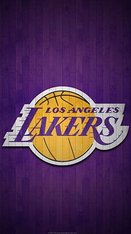 Los Angeles Lakers Mobile Hardwood Logo Wallpaper V1 Lakers Wallpaper Jordan Logo Wallpaper Nba Wallpapers