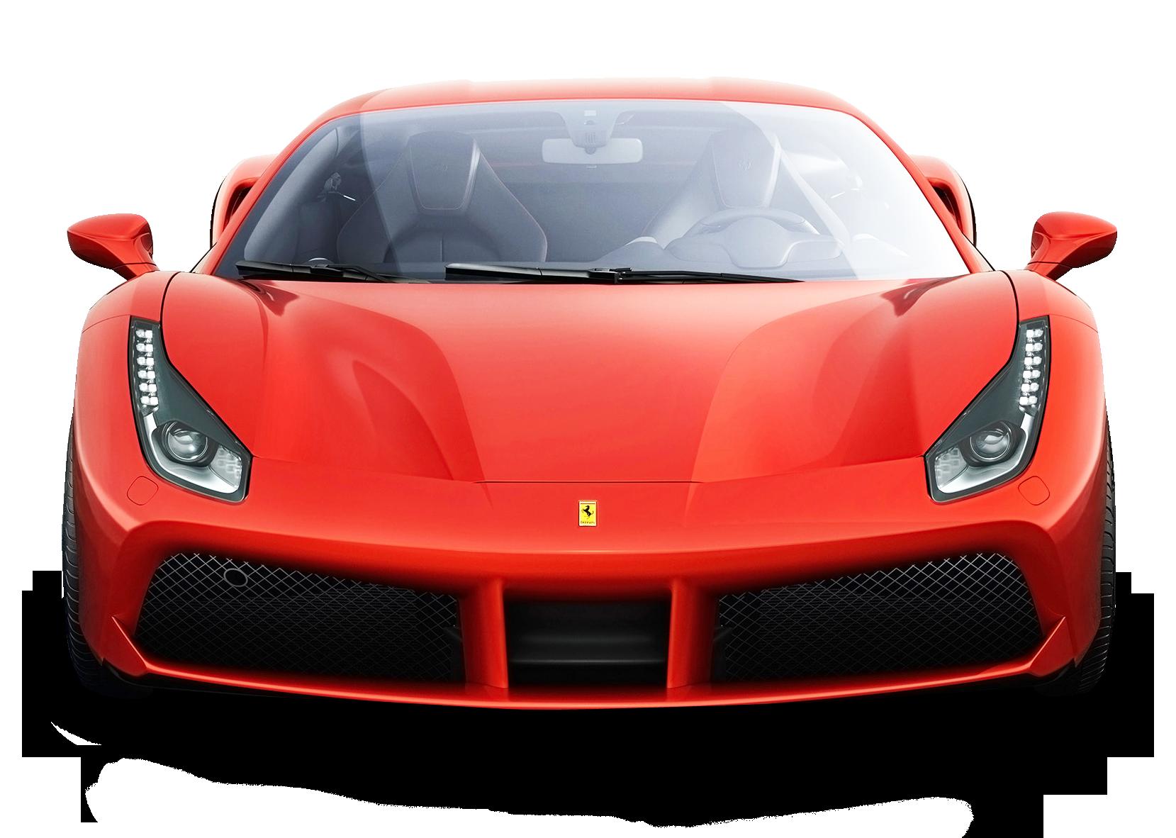 Ferrari 488 Gtb Red Car Png Image Red Car Ferrari Ferrari 488