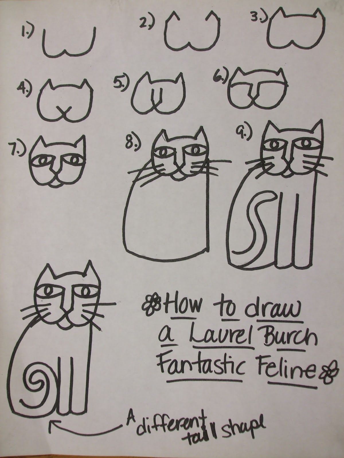Rainbow Skies & Dragonflies: Laurel Burch inspired Cats
