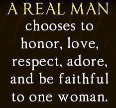 what makes a man faithful