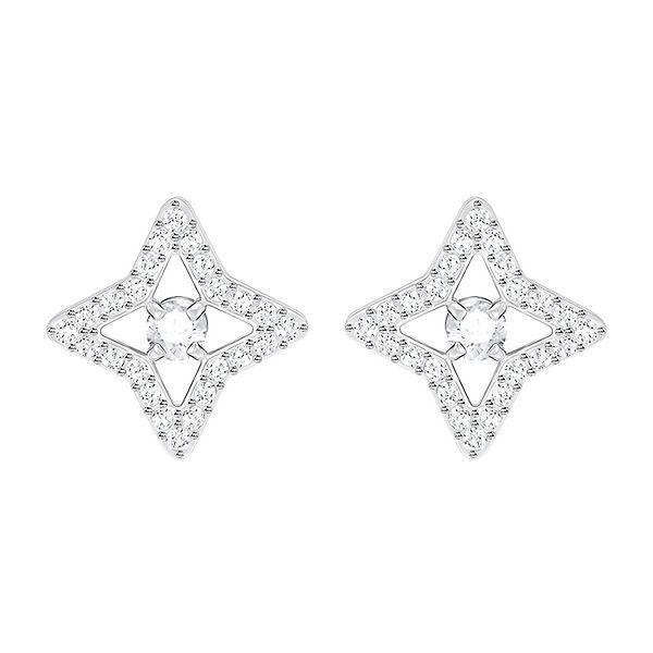 0c8987fc71b5f Swarovski® Sparkling Dance Star Stud Earrings in 2019 | Geometric ...