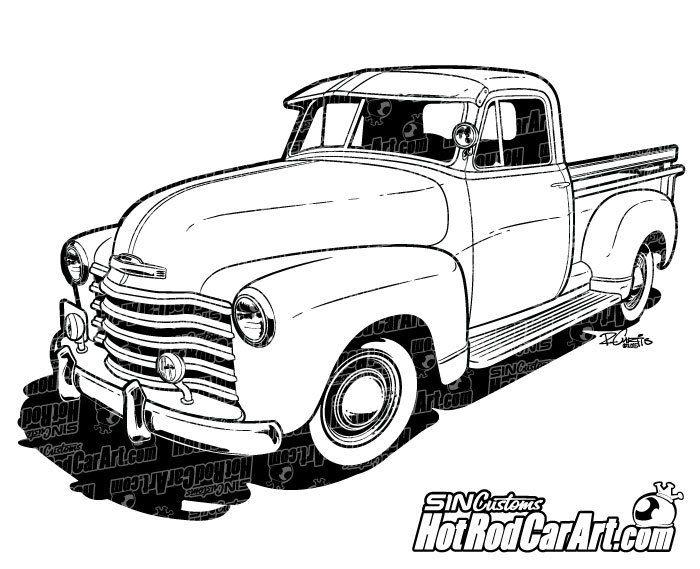 1947 chevy coupe rat rod