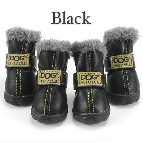Dog Boots Puppy Booties Waterproof Winter Snow Boots Rain
