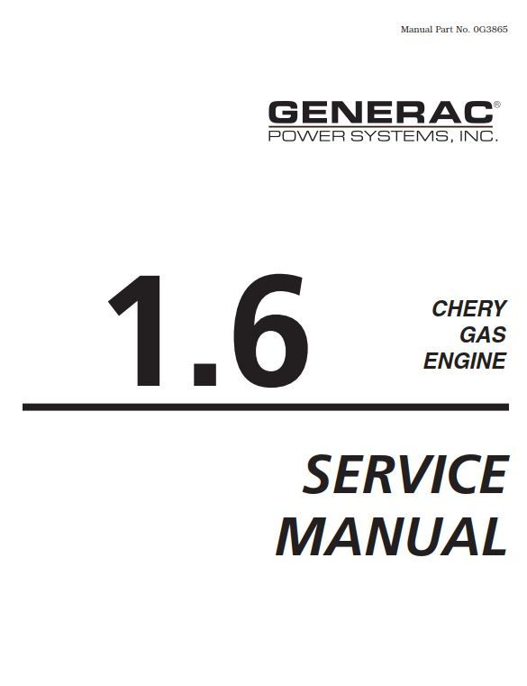 New post (Chery 1.6 Gas Engine Service Manual) has been