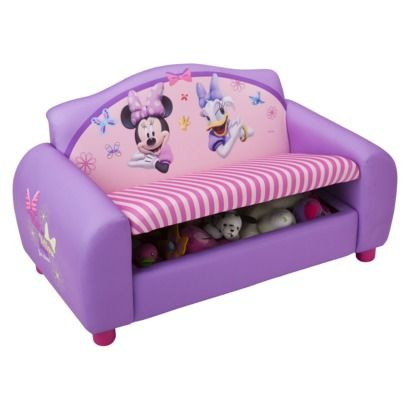 Marvelous Super Cute Minnie Toy Box Couch From Target