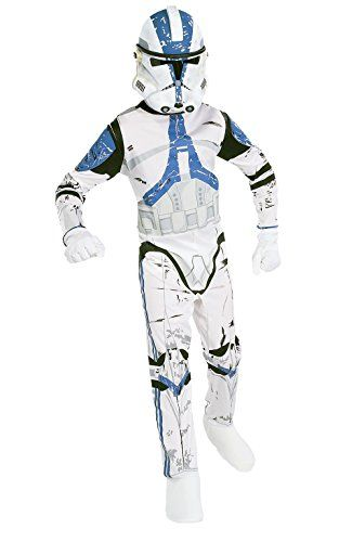 Star Wars Childs Clone Trooper Costume Small 4 6 Check Out The Image By Visiting The Link Note It Is Clone Trooper Costume Boy Costumes Star Wars Costumes