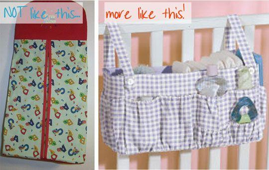 free crochet diaper stacker pattern - Google Search
