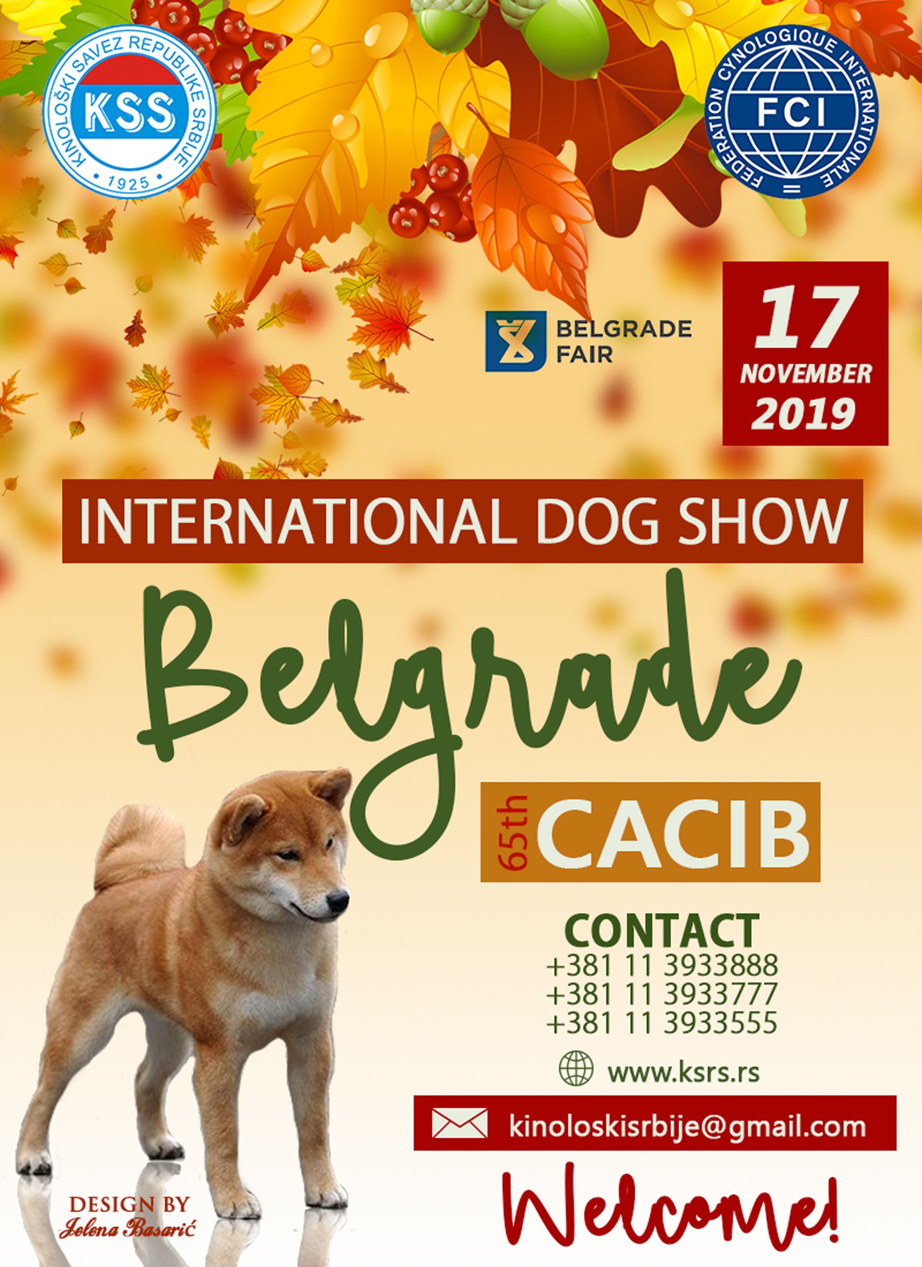 On Behalf Of The Kennel Club Of Republic Serbia We Invite You