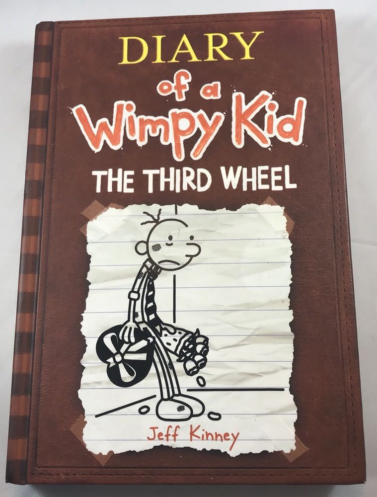 Diary Of A Wimpy Kid The Third Wheel By Jeff Kinney 2012 Hardcover 9781419705847 Ebay Wimpy Kid Jeff Kinney Wimpy