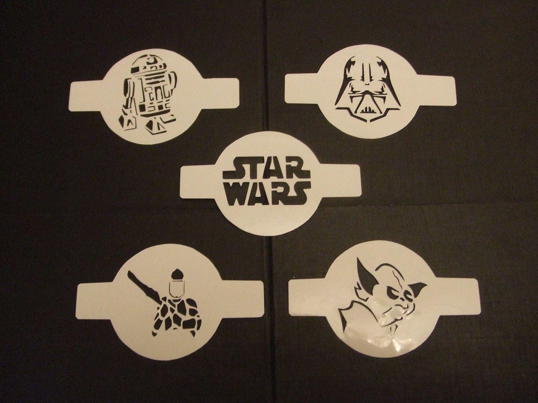 Star Wars Characters Set 2 Coffee Latte Duster Or Cupcake