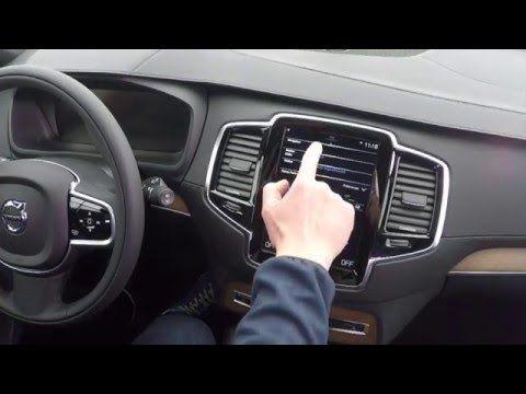 Neues 12 Inch Volvo XC90 InfotainmentSystem Sensus