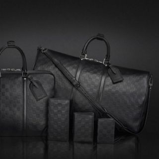 Louis Vuitton Damier Infini Collection for men- Happy Bday Baby!! I had to finish up your collection! ; )