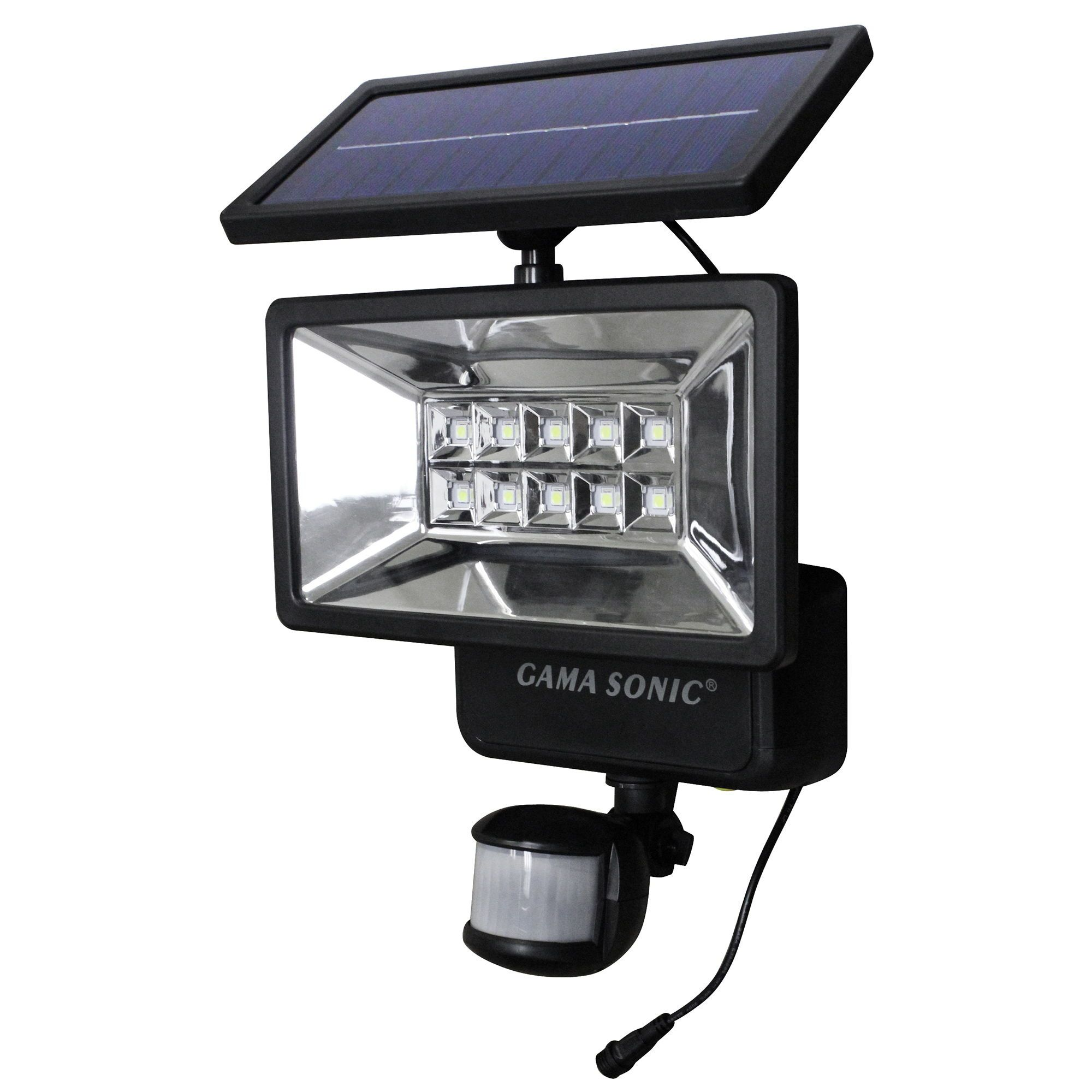 Solar Security Light With Motion Sensor Gs 10 Solar Powered Security Light Security Lights Motion Sensor Lights Outdoor