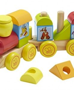 5a384ebf5cf2 Disney-Baby-Winnie-the-Pooh-Wooden-Stacking-Train  wood toy  wooden toy   toys for boys  boys toys  cool toys for boys  baby boy toys  boy toys  toys  for 2 ...
