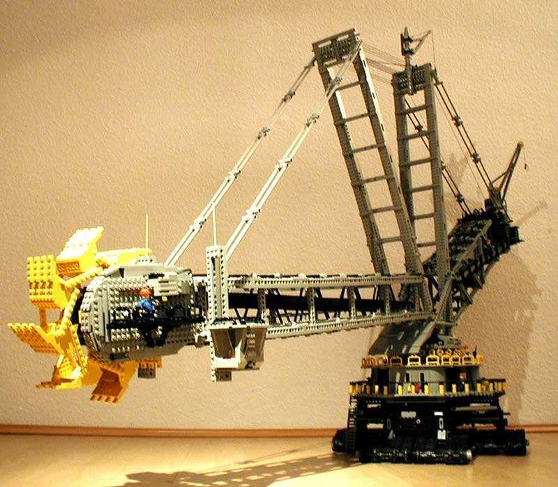 Bucket Wheel Excavator Big Lego Sets Lego Bucket Legos