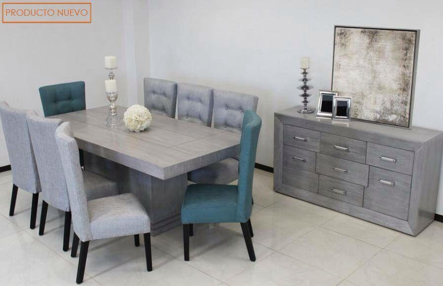 Comedor gris home sweet home en 2019 comedores grises for Decoracion de interiores comedores modernos