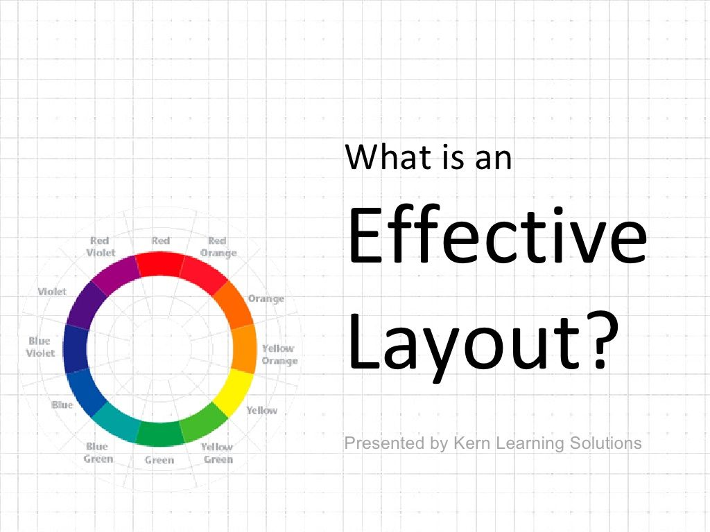 what-is-an-effective-layout-3435438 by Kern Learning