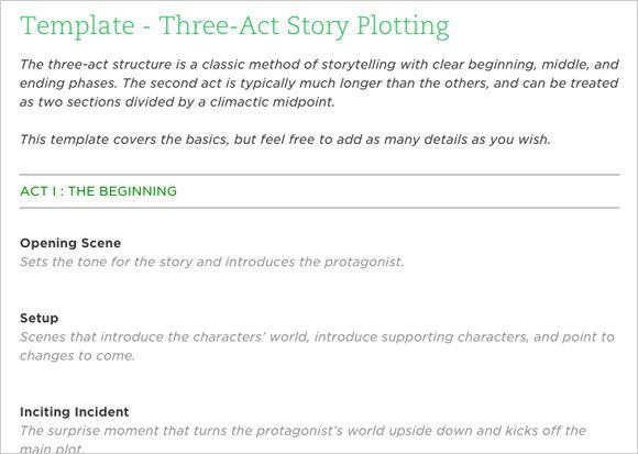 12 Creative Writing Templates for Planning Your Novel Creative - blank writing sheet